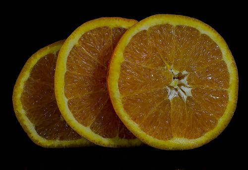 fruit orange wheel