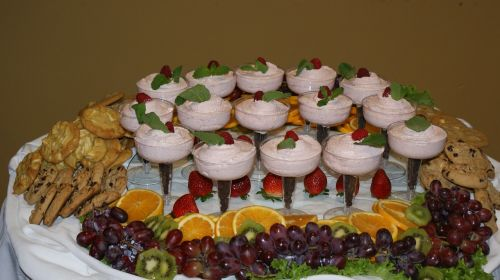 catering fruit display