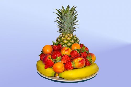 fruit colors pineapple