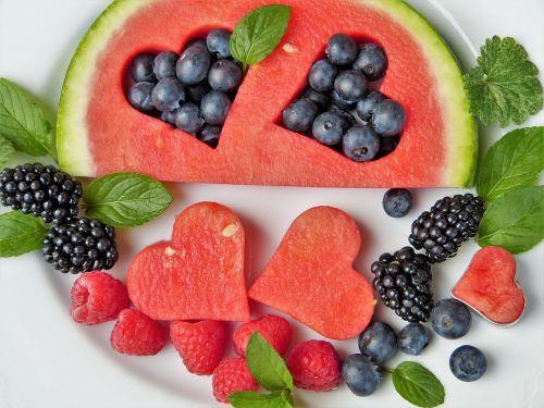 fruit fruits heart
