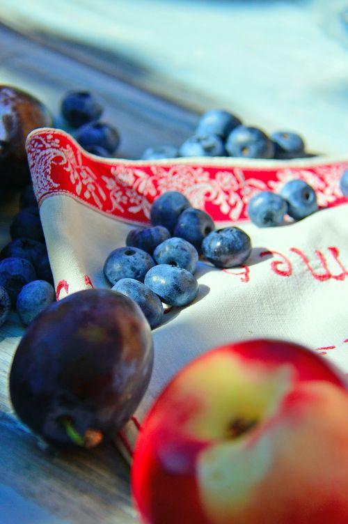 fruit blue color