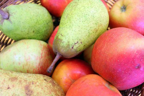 fruit apples pears