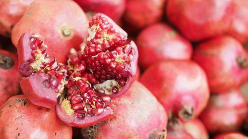 fruit pomegranate food