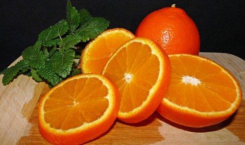 fruit  citrus  lemon balm