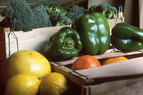 fruit vegetable crate