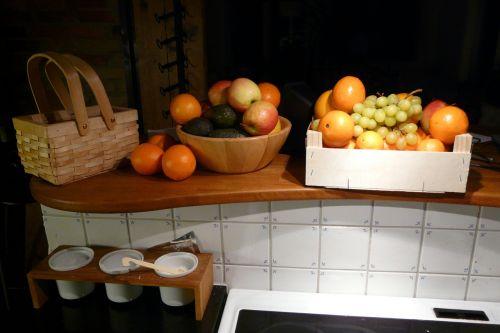 fruit kitchen tile