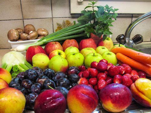 fruit fruits mushrooms
