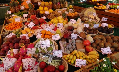 fruit market vegetable
