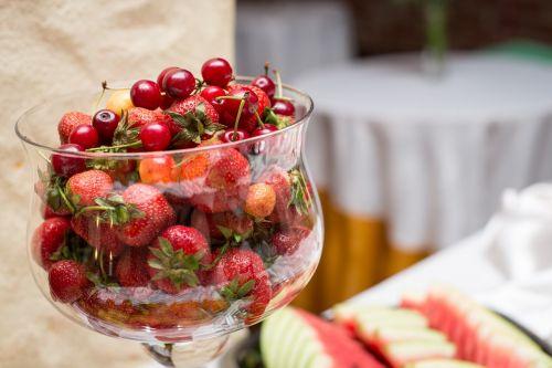 fruit strawberries dessert