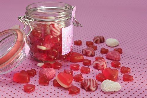 fruit jelly  gummibärchen  heart