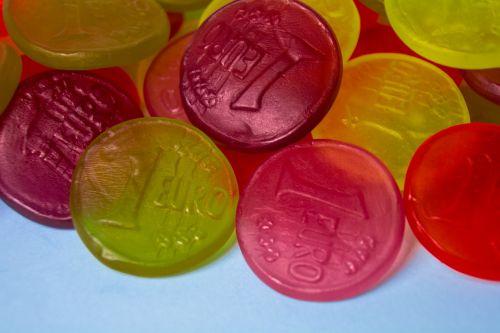 fruit jelly euro money