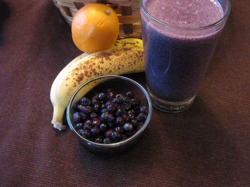vaisiai, gerti, vaisių kokteilio, gėrimas, oranžinė, bananas, mėlynieji, vaisių & nbsp, krepšelis, krepšelis, maistas, valgyti, sveikas, receptas, vaisių skutimosi