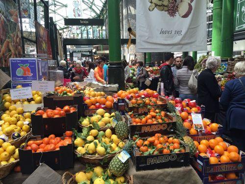 fruit stall market london