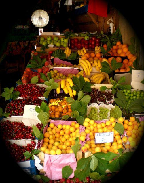 fruit stand fruits fruit