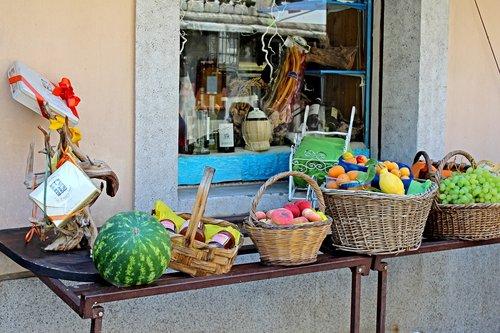 fruit stand  market  food