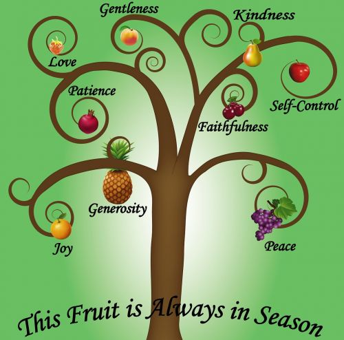 fruits spirit season