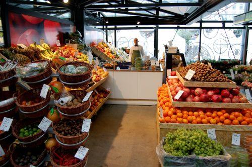 fruits shop market