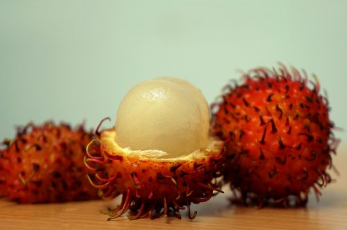 fruits rambutan food