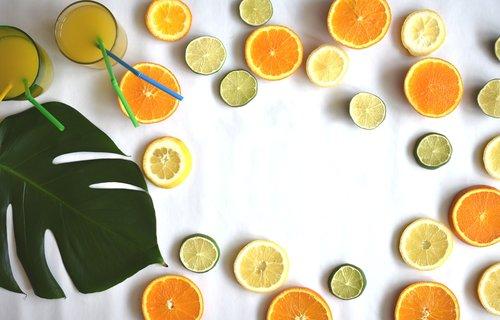 fruits  citrus  summer