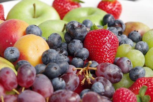 fruits  fruit  strawberries