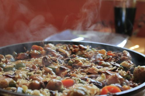fry up paella pan