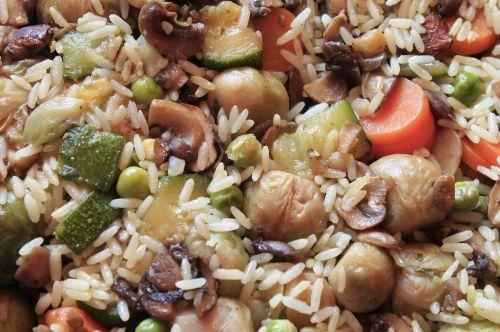fry up paella rice ladle