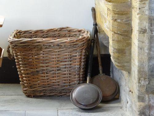 frying pan basket antique