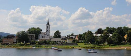 frymburk city countryside