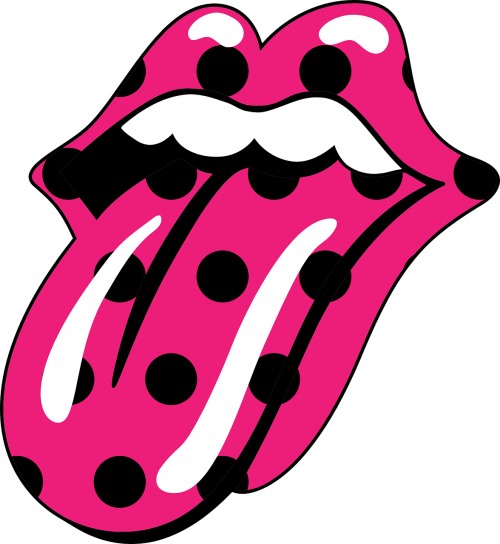 fuchsia mouth the rolling stones