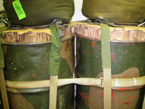 Fuel Drums Ready For Airdrop