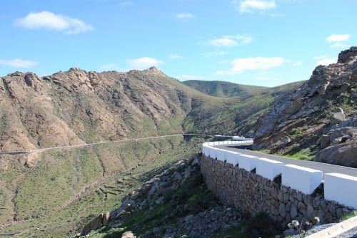 fuerteventura inland mountains