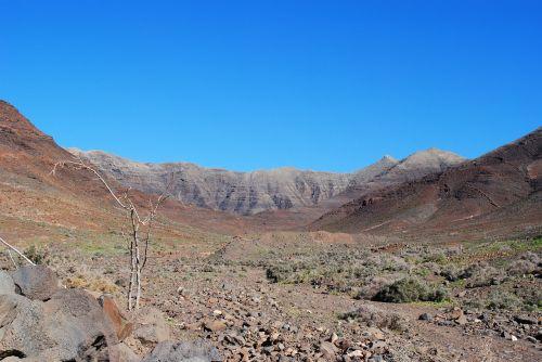 fuerteventura landscape canary islands