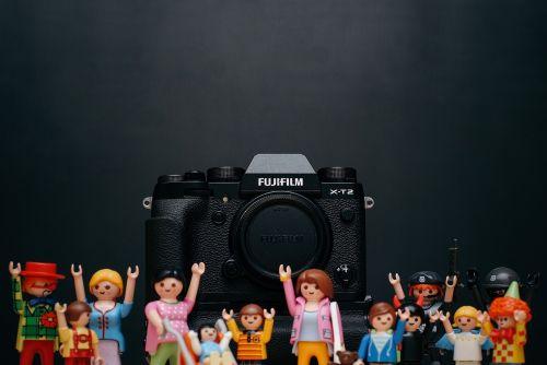 fujifilm black camera