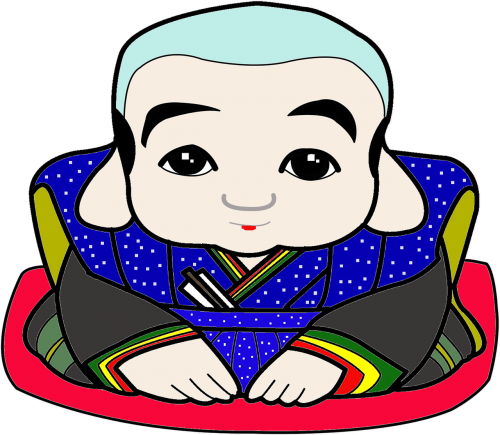 fukusuke japan a mascot