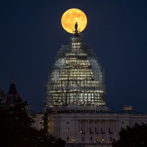 full moon washington dc