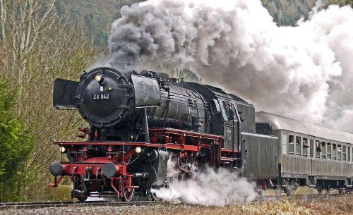 full steam steam locomotive acceleration