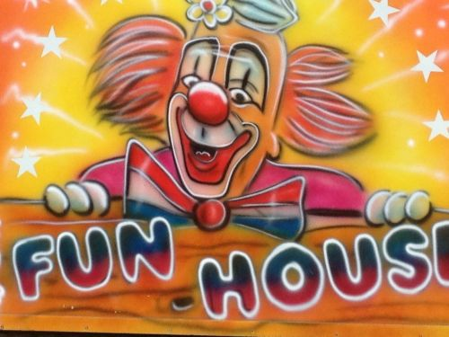 fun fair clown funfair