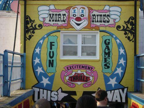 fun house coney island amusement park
