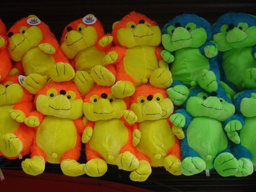 fun park figures soft toys