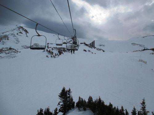 funicular ski lift lift