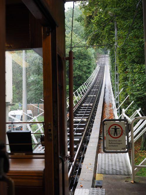 funicular railway gleise funicular stuttgart