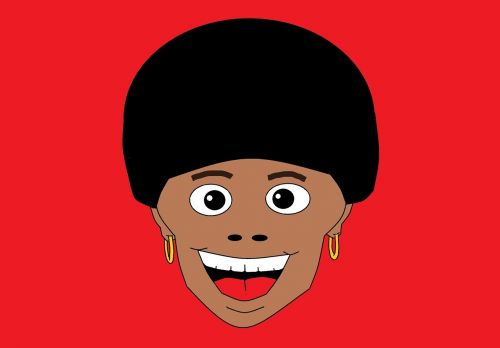 funky style afro