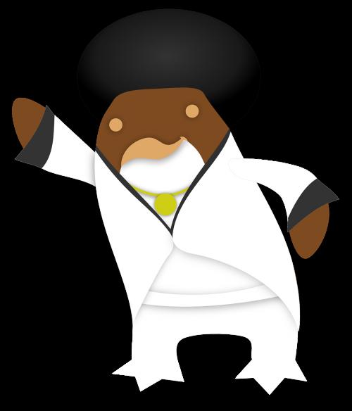 funky penguin tux