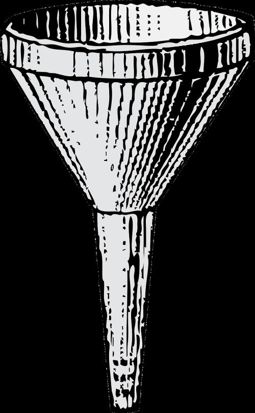 funnel cone fluid