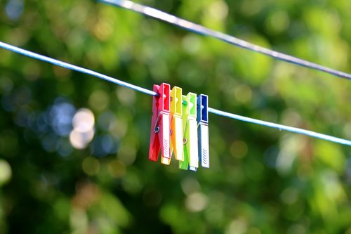 funny  clothesline  drying