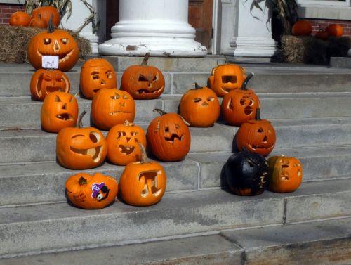 Funny Carved Pumpkins