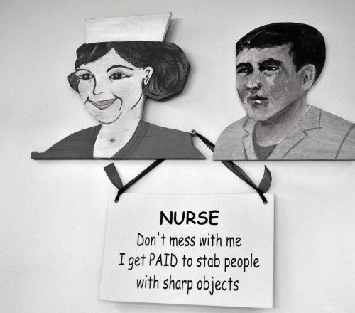 Funny Hospital Sign