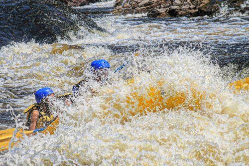 Funny Sport Rafting