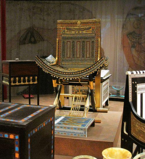 Furniture & Chair Of Tutankhamun