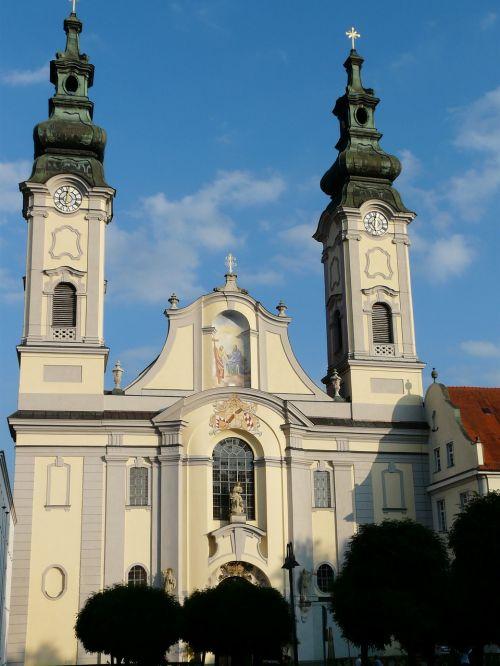 fürstenzell port church church port church
